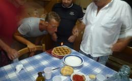 A crostata for a Happy Birthday